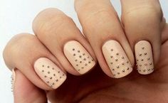 Love the color and the little accents on the nails.  Not overdone which I love