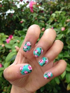 My nails are ready for spring!   Show me your nail art below!   #GHannelius #NailArt #Spring