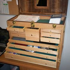 How to build Machinist Chest Plans PDF woodworking plans ...