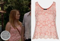 Shop Your Tv: Switched at Birth: Season 2 Episode 18 Daphne's Lace Tank Top