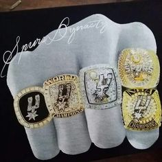 San Antonio Spurs-5 Time NBA CHAMPIONS