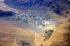 Fort Irwin, CA, where we lived when Fred was in the Army.  It's in the Mojave Desert by Death Valley.