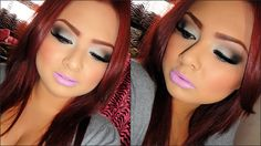 Cute hair Color and love the makeup