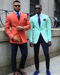 via African Men Killing It Color done right... #stylefromachitownerseye