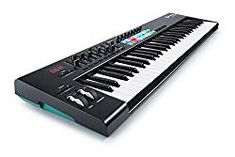 Novation Launchkey USB/iOS MIDI Keyboard Controller with Synth-weighted Keys Best Digital Piano, Digital Piano Keyboard, Keyboard Piano, Drum Pad, Music Software, Midi Keyboard, M Audio, Ableton Live, Pianos