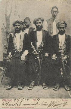 Zanzibar men ca 1900