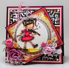 A World of Creative Possibilities: Kraftin' Kimmie Stamps : New release day 3...You're a rockstar!