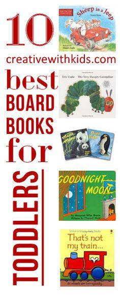Best Toddler Board Books - Favorite Picks