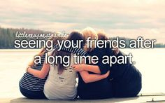 Friends <3 they make you smile anytime, any place