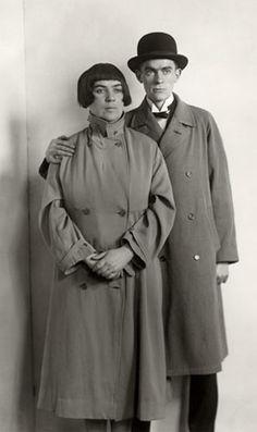 August Sander: The Painter Anton Raederscheidt and his Wife Marta Hedemann, ca. 1925