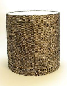 Cylinder - Raffia & Cotton weave 500x500x500   Lampshades   ASHANTI Trash Can, Lamp, Raffia, Decor, Cylinder, Lampshades, Lamp Shade, Home Decor, Lights