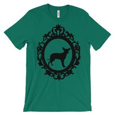 Chihuahua Cameo - Unisex short sleeve t-shirt