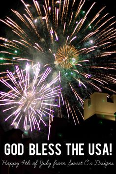 Tips on taking pictures of fireworks!