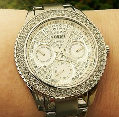 BLING! fossil watch