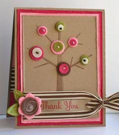 Tree & felt card