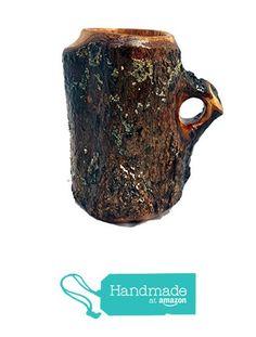 "Wooden Coffee Mug Maple ""Bark-On"" Lathe Turned from Kentucky Roots Wood https://www.amazon.com/dp/B074JJ4LBB/ref=hnd_sw_r_pi_dp_q23Gzb8FH373G #handmadeatamazon"