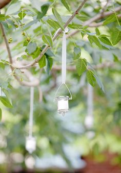 hanging tea lights event wedding fete photo by melanie mauer photography Hanging Tea Lights, October Wedding, Brides, Dream Wedding, Party Ideas, Wedding Ideas, Events, Entertaining, Foods