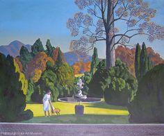 Rockwell Kent Painting, Plattsburgh State Art Museum, State University of New York Rockwell Kent, Norman Rockwell, Single Tree, Digital Museum, Soul Art, Nostalgia, State Art, American Artists, Landscape Art
