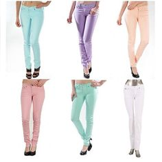 WEBSTA @ judybluejeans - Our pastel skinnys! #instafashion #fashiondiaries #fashionista #inspiration #sell #shop #buy #fashion #instagood #iphonesia #popular #instalove #instadaily #love #lookbook #chic#spring #ootd #outfit #style #streetstyle #hipster #swag #stylish #weheartit #fashionforward #picoftheday #JudyBlue #judybluejeans #pastels
