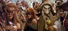 Masquerade ball scene from the movie 'Labyrinth'.
