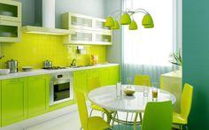 #green #kitchen #kuchyna #design #domov #home #homeideas