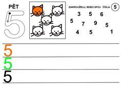 Čísla - pracovní listy Kids Learning Activities, School Ideas, Architecture, Infant Learning Activities, Numbers Preschool, Arquitetura, Architecture Design