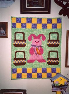 $45.00 Hoppy Easter Wallhanging