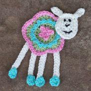 Ein farbenfrohes Schaf - A colorful Sheep