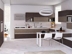 Cucina su misura Evolution   Sito ufficiale Scavolini   Kitchen ...