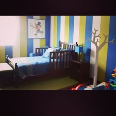 93 best CUARTO NIÑO images on Pinterest | Boy rooms, Boy room and ...