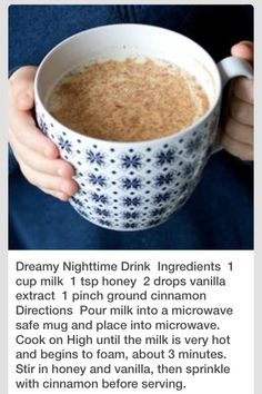 this looks incredibly yummy and relaxing!
