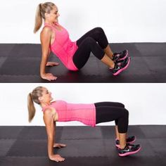 Tabletop Hip Dip - Circuit Workout Routine: Get a Flat Stomach, Tight Butt, and Thin Thighs - Shape Magazine