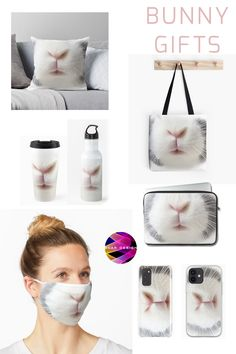 Cute bunny nose and whiskers gift ideas for all #bunnylovers. Gift this #Christmas beautiful presents to your loved ones and make them happy. #bunny #rabbit #bunnies #petrabbit #petbunny #miniloopbunny #nederlanddwarfrabbit #dwarfbunny #cute #petlover #pets #animal #christmasgift #xmasgifts