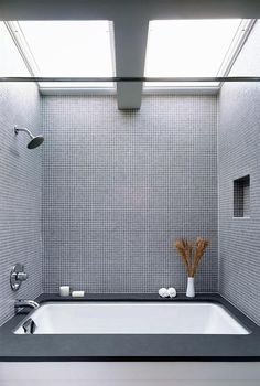 Skylight in bathroom, Remodelista Like the idea, not the example