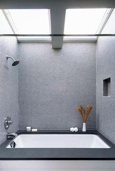 Möglichkeit, falls Badewanne integriert würde