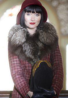 Miss Fisher's Murder Mysteries. Series 1, Episode 5: Raisins and Almonds. Essie Davis as Phryne Fisher.