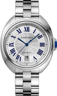 Clé de Cartier watch40 mm, steel