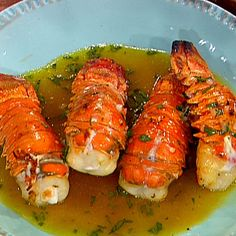 Grilled Lobster Tails with a Ruby Red Grapefruit and Tarragon Vinaigrette