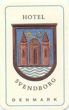 Denmark Hotel Svendborg Vintage Luggage Label | eBay