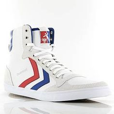HUMMEL STREET STYLE RETRO STADIL HI CUT SNEAKER IN WHITE/BLUE/RED 63111 - Product Description HUMMEL STREET STYLE RETRO STADIL HI CUT SNEAKER IN WHITE/BLUE/RED 63111 Hummel Shoes and Sportswear are not only worn in gyms but are also popular on the streets with the characteristic stripes are mostly designed in clear retro... - http://shoes.goshopinterest.com/womens/fashion-sneakers/hummel-street-style-retro-stadil-hi-cut-sneaker-in-w