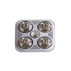 A716R W Quiet Bathroom Heater-Fan-Light by Aero Pure | A716R W