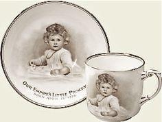 souvenir cup and saucer ... princess Elizabeth