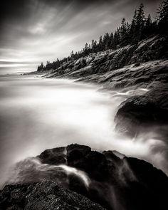 Acadian Coast, Seal Harbor, Maine, USA