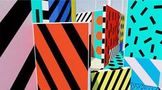 Camille Walala X Play Camille Walala, London With Kids, Summer Kids, Top Ten, Explore, Holiday, Artwork, Ss, Graphics