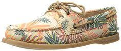 Sperry Top-Sider Women's A/O 2 Eye Seaweed Print SM Boat Shoe