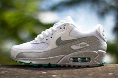 Nike Air Max 90 (Metallic Silver/TurboGreen)