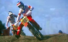 Motocross legend David Bailey