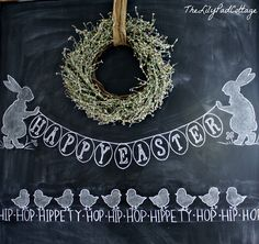 easter chalk picture | Easter Chalkboard - The Lilypad Cottage