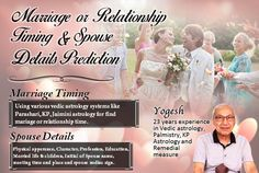 Timing of Marriage or Relationship Spouse detail apperance