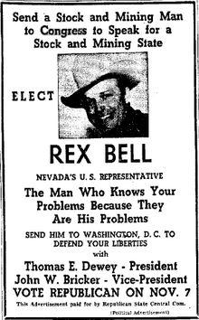 Rex Bell - Wikipedia, the free encyclopedia